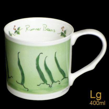 Runner Beans Large Mug
