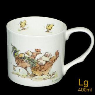 Rooster Race Mug