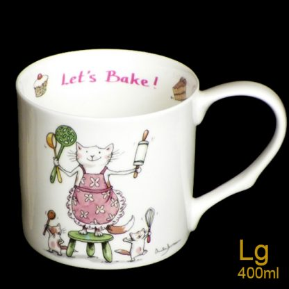 Lets Bake Large Mug by Anita Jeram