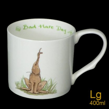 Bad Hare Day Large Mug