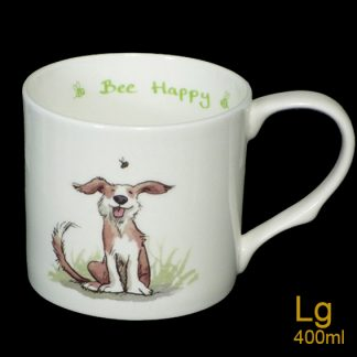 Bee Happy Large Mug