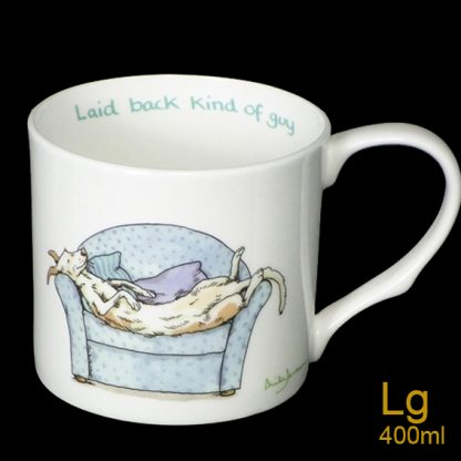 Laid Back Kind of Guy Large Mug