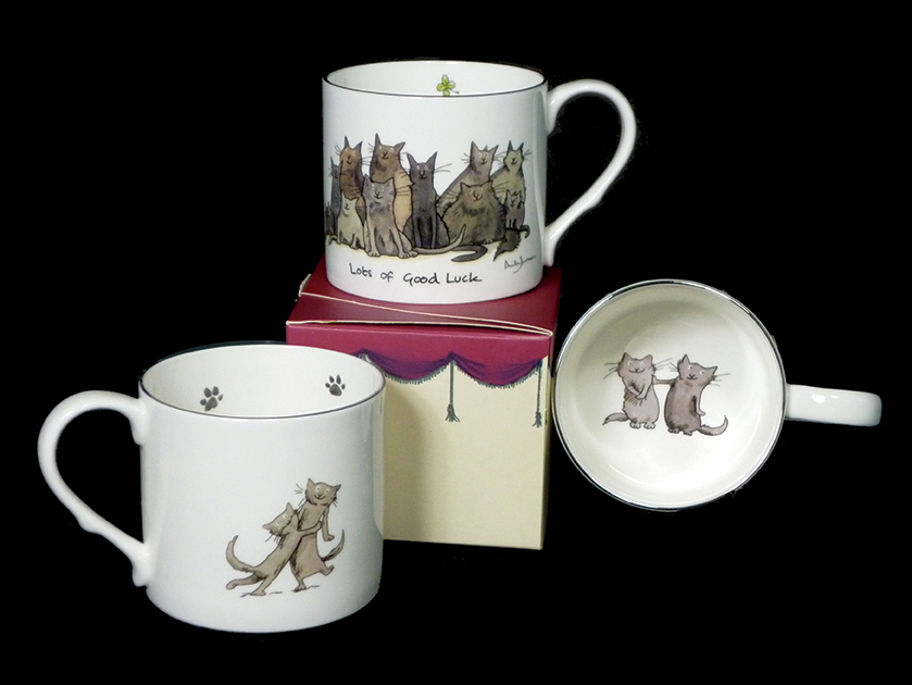 mug for cat lover by anita jeram