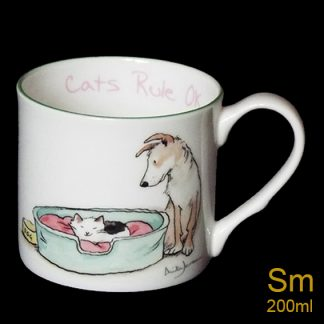 Cats rule OK Mug