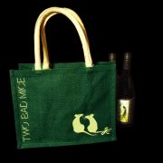BE3 FOREST GREEN ECO BAG