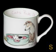 cat rule mug