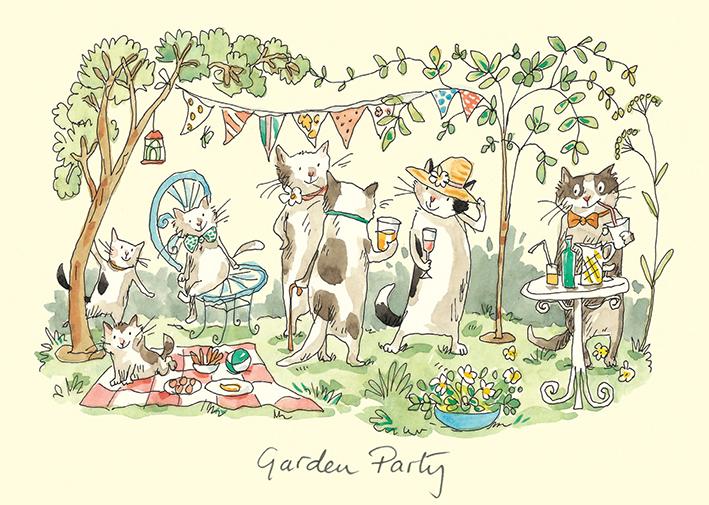Garden Party Dessin