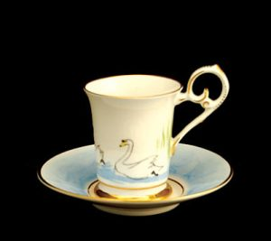 Swan Lake Plain Demitasse