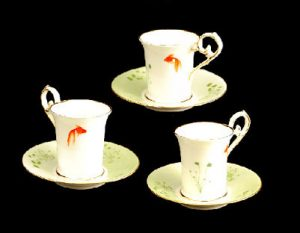 Goldfish Plain Demitasse
