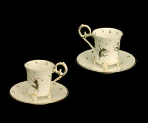 Mice Footed Demitasse