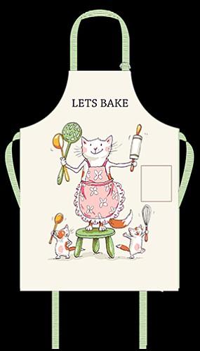 Lets Bake Apron