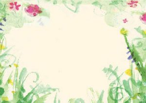 PF5 Wild Garden Place Setting Cards