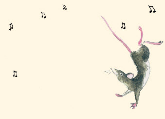 Dancing Mice Place Setting Cards