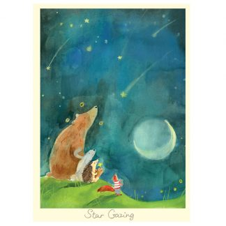 Star Gazing card