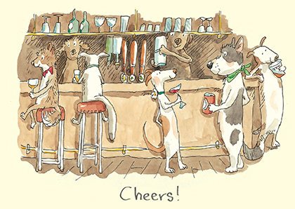 M235 CHEERS! CARD