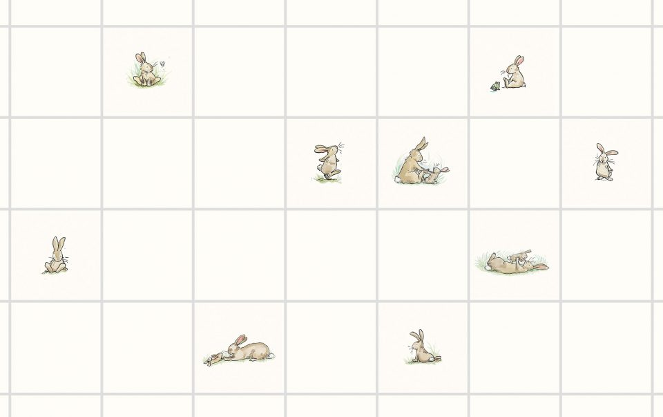 Rabbit splashback by Anita Jeram