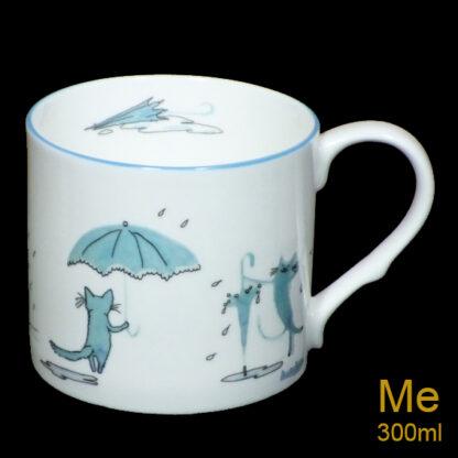 Les Chats Bleus Medium Mug