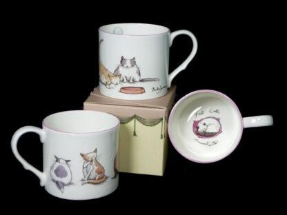 Bone China Mugs for Cat Lovers