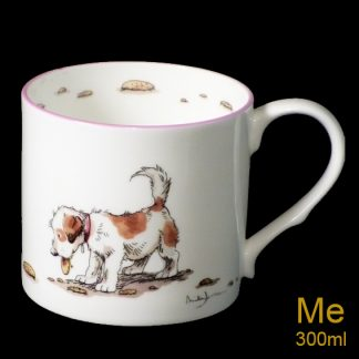 COOKIES bone china mug