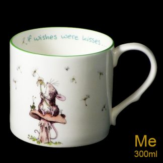 If Wishes were Kisses Medium Mug
