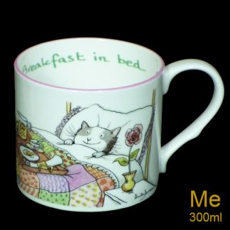 Breackfast in Bed medium mug