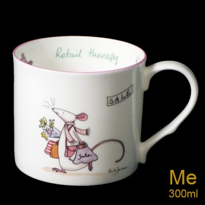 Retail Therapy Medium Mug