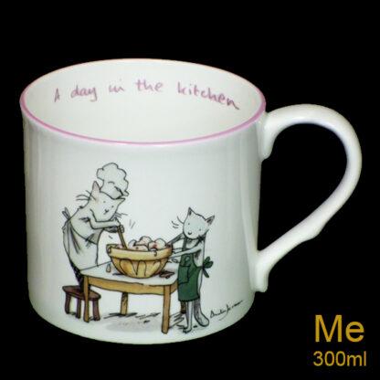 day in the kitchen medium mug