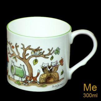 Cat Close medium mug