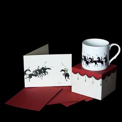 Polo Mug and Card Gift Set