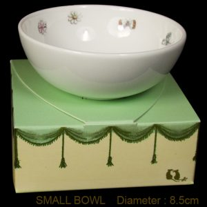 KBSMR10  Meadow Bunny Bowl