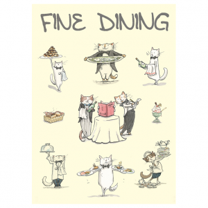 M278 Fine Dining Card
