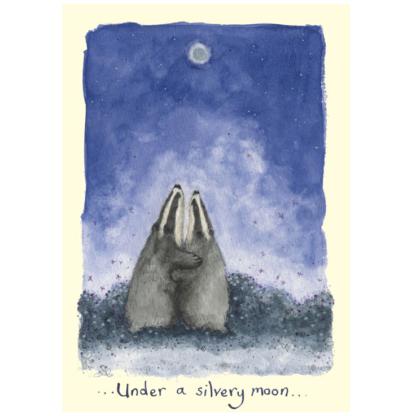 Silver Moon Card
