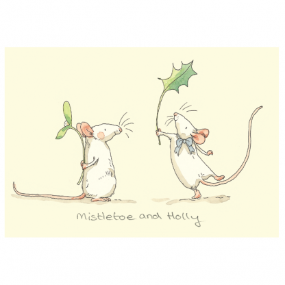 Mistletoe & Holly