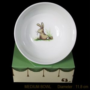 KBMMR8 Bunny Looking Bowl