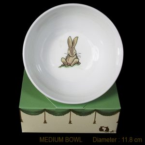 KBMMR9 Bunny Sitting Bowl