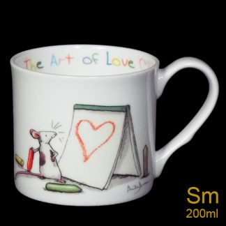 Art of Love Small Mug