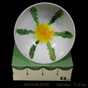 KBMJ1 Dandelion Medium Bowl