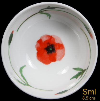 Small Poppy Bowl