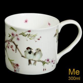 Sparrow & Blossom Mug