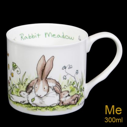 Rabbit Meadow Mug