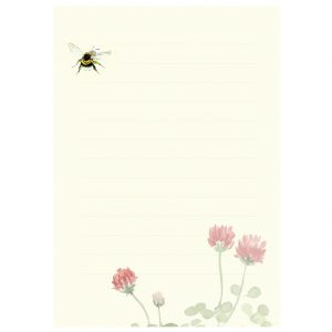 SMPJ1 Bee & Clover Memo Pad