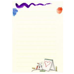 SMPM1 Art Club Memo Pad
