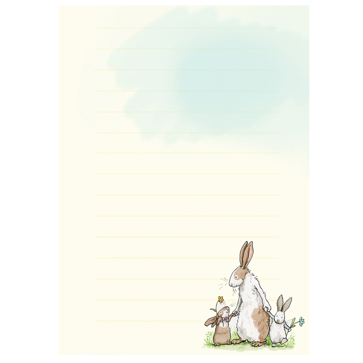 Stationery for Rabbit lovers by Anita Jeram