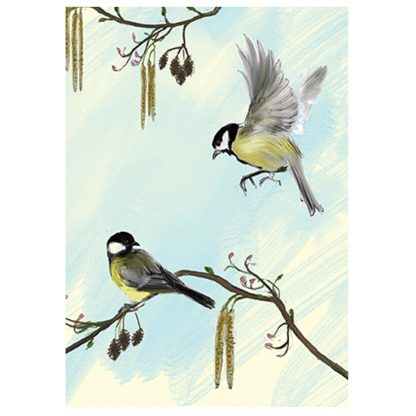 Great Tit Card