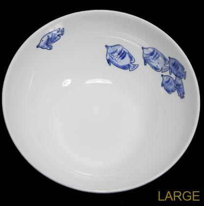 Six Blue Fish bowl by Anita Jeram