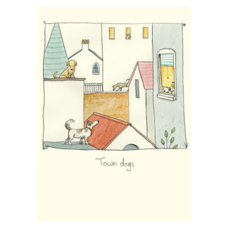 Town Dogs Card by Anita Jeram
