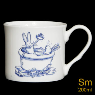 Bath Rabbit Mug by Anita Jeram