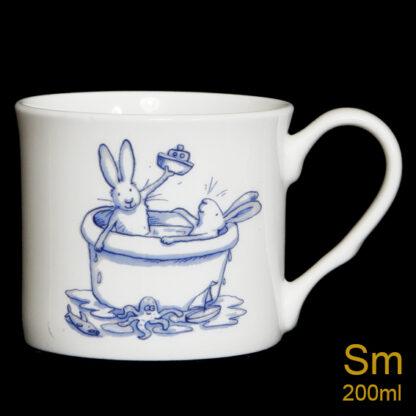 Bath Rabbit Mug by Anita Jeram