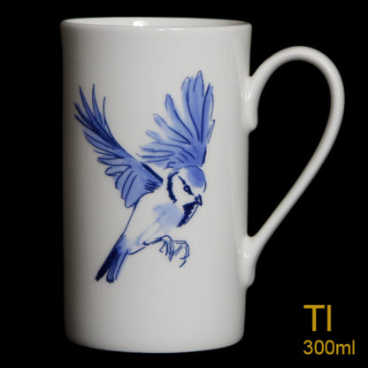 Blue Tit Tall Mug