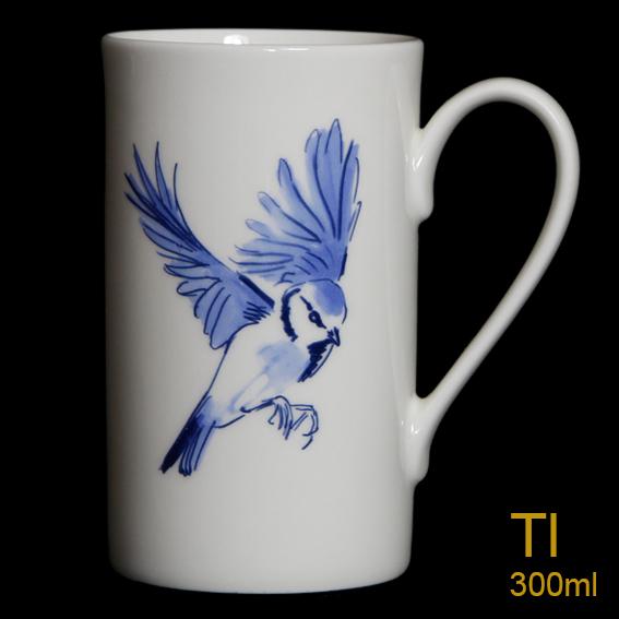 Blue Tit Tall Mug